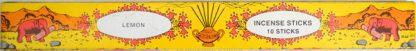 Indian Incense Lemon 95 4809 08